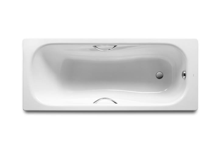 ROCA PRINCESS ванна 150*75см прямоугольная, с ручками, без ножек