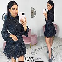 Женское короткое платье с 42 по 48 рр супер софт, фото 1