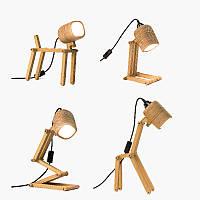 Деревянный светильник-конструктор Flampic Basic+