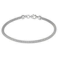 Срібний браслет жорсткий (4.13 г, розмір 16)