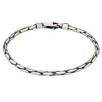 Серебряный мужской браслет (размер 21) BST150uzw