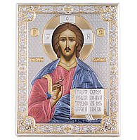 """Икона серебряная """"Господь Вседержитель"""" (12х16см) 85300.3LCOL, фото 1"""