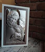"""Икона серебряная """"Святая Симья"""" (25,5x45,5см) L240.6, фото 1"""