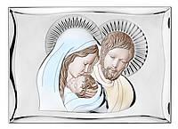"Икона серебряная ""Святое Симейство"" (35х50см) 81301.7LCOL, фото 1"