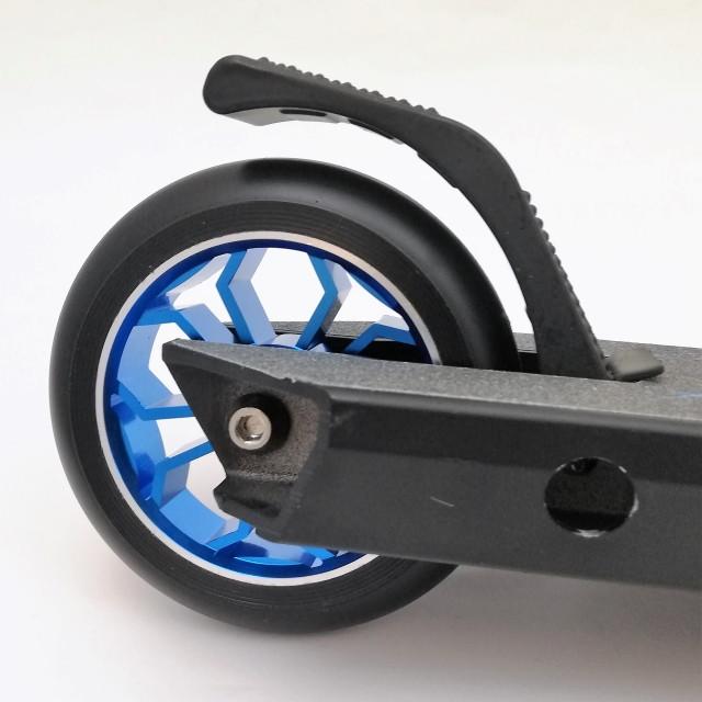 Самокат трюковий з алюмінієвими колесами D09 гальми