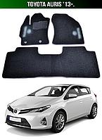 Коврики Toyota Auris '13-. Текстильные автоковрики Тойота Аурис
