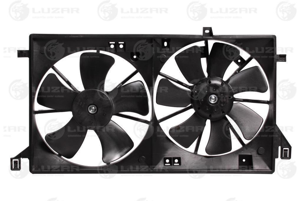 Электровентиляторы с кожухом (2 вент.) Mazda 3 (BL) (09-) 1.6i (LFK 2549) LUZAR Z66815025 404015D 454223W3