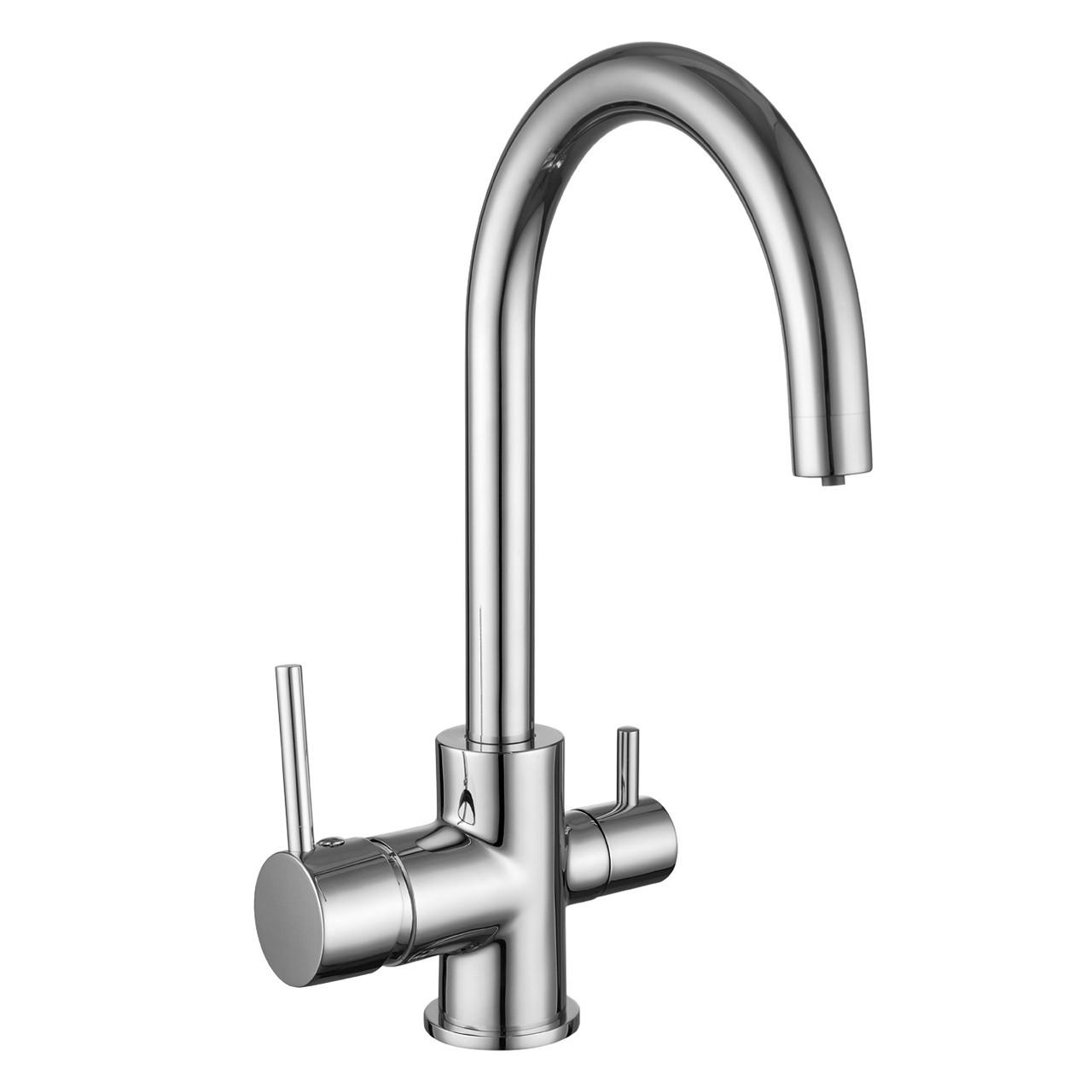 IMPRESE DAICY-U смеситель для кухни  с подключением питьевой воды, хром