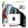 Карта памяти microSDHC Kingston 32GB Canvas Select Plus V10 A1 Class 10 UHS-I U1 (R100MB/s), фото 4