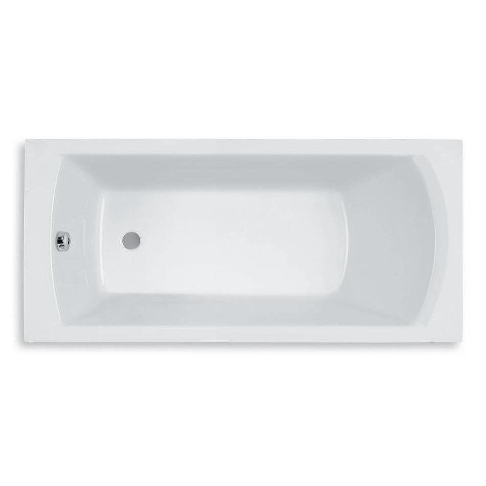 ROCA LINEA ванна 170*70см прямоугольная, с ножками