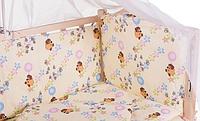Комплект сменного постельного белья 8 в 1 Бязь плотная ткань