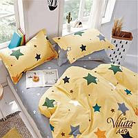 Комплект постельного белья подростковый сатин ТМ Вилюта 449