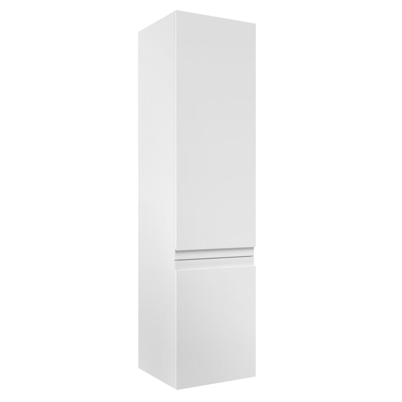 VOLLE LEON пенал 139*35*35см, подвесной, белый