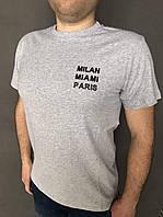 Мужскаяхлопковая футболкас различными принтами