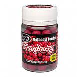 Бойлы насадочные Клюква CarpZone ?ranberry Method & Feeder Series Instant 10mm, банка 60 шт, фото 2