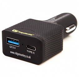 Зарядное устройство от прикуривателя авто Ridge Monkey Vault 45W USB-C PD Car Charger