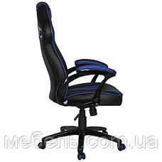 Кресло для врача Barsky SD-06 Sportdrive Gam, черный / синийe Blue, фото 2