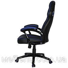 Кресло для врача Barsky SD-06 Sportdrive Gam, черный / синийe Blue, фото 3