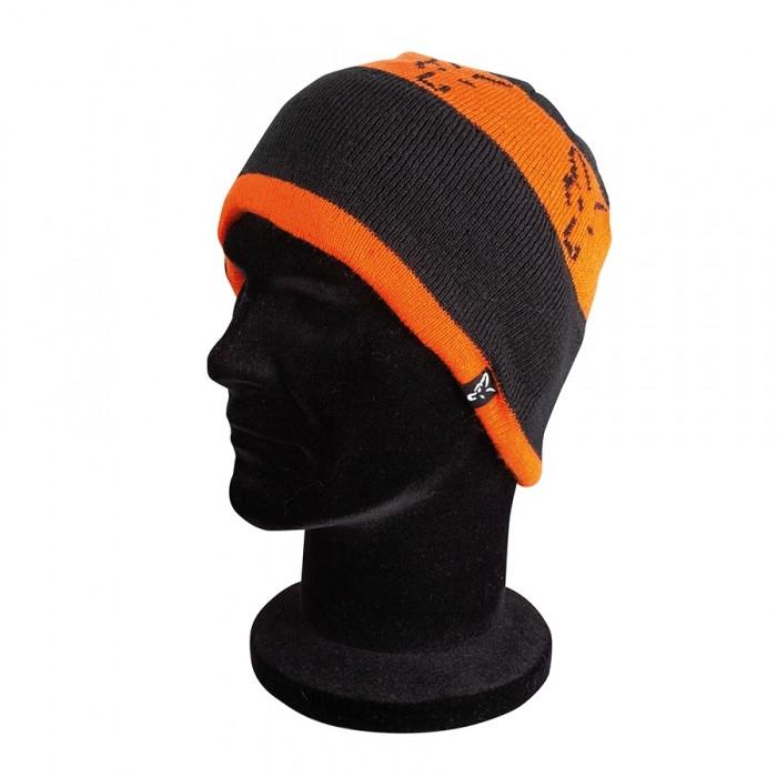 Шапка Fox Black/Orange Beanie