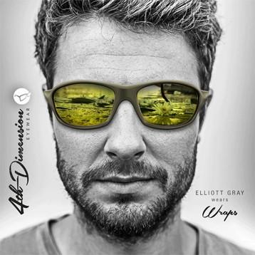 Солнцезащитные очки Korda Wrap Sunglasses