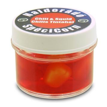Искуственная кукуруза Haldorado SpeciCorn Chili & Squid, 10 шт