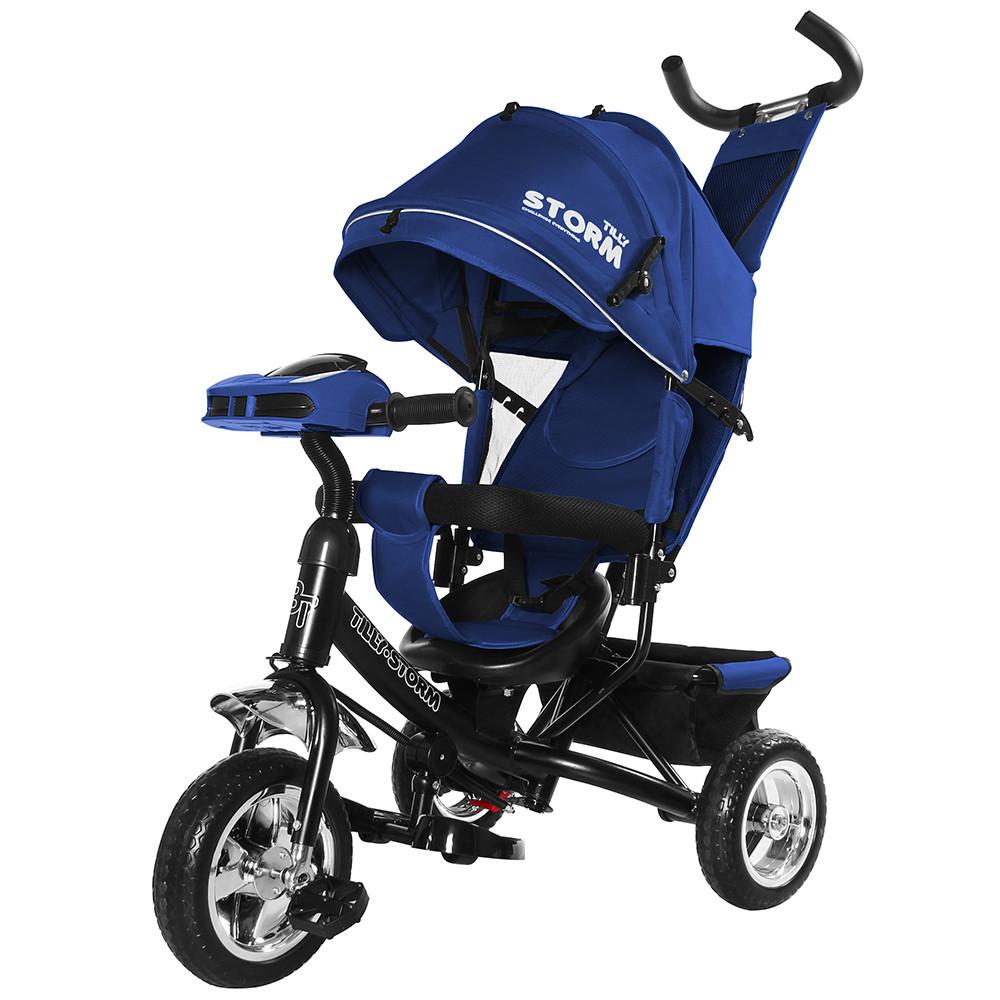Велосипед трехколесный TILLY STORM T-349 Синий Гарантия качества Быстрая доставка