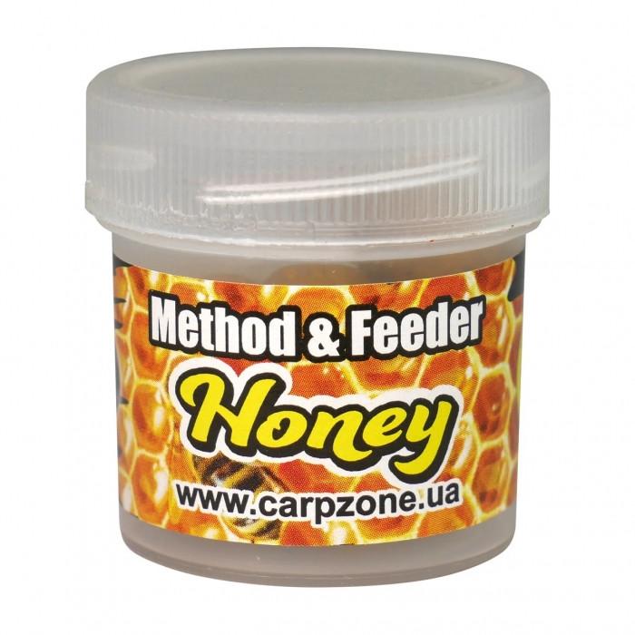 Бойлы пробник насадочные Мед CarpZone Honey Method & Feeder Series Instant 10mm, банка 15 шт