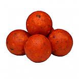 Бойлы пробник насадочные растворимые Кислая Груша CarpZone Acid Pear Boilies Method & Feeder Series Soluble 10mm, банка 15 шт, фото 2