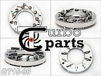 GT15-90 Геометрия турбины Ford, Volvo, Mazda 1.6 - 740821-0001, 750030-0002, 753420-0002