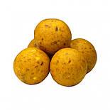 Бойлы пробник насадочные растворимые Сахарная Кукуруза CarpZone Sweet Corn Boilies Method & Feeder Series Soluble 10mm, банка 15 шт, фото 2