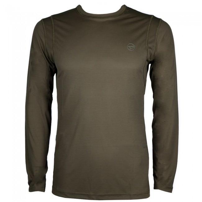 Футболка с длинным рукавом Korda Kool Quick Dry Long Sleeve T-Shirt