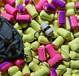 Бойлы насадочные растворимые Конопля Time Fishing Hemp Dumbells, 10 шт, фото 3