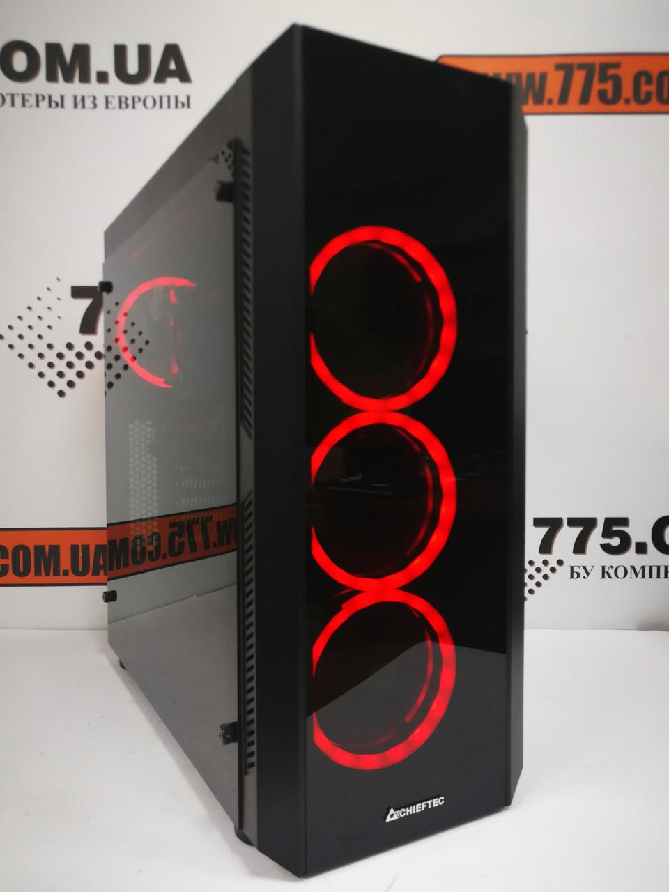 Игровой компьютер Scorpio II, Intel Core i7-4770 3.9GHz, RAM 16ГБ, SSD 240ГБ, HDD 1ТБ, GTX 1080 8ГБ