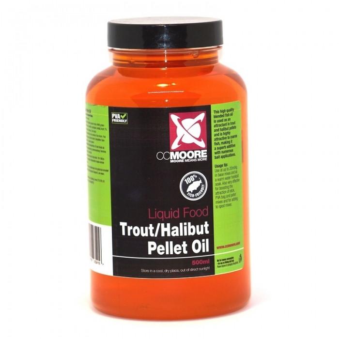 Масло форели / палтуса CC Moore Trout/Halibut Pellet Oil, 500ml
