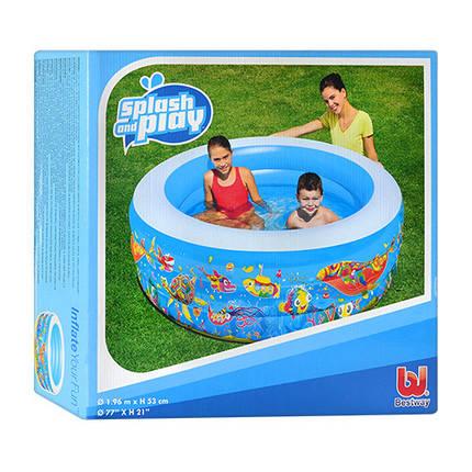 Бассейн детский Bestway Подводный мир 51122 круглый, фото 2