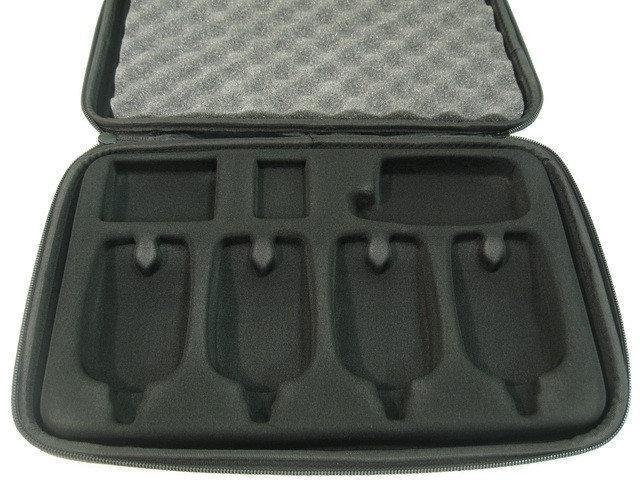 Чехол для сигнализаторов поклевки CarpZone Presentation Case 4 rod+1