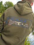 Толстовка с капюшоном KORDA TEAM HOODIE DARK OLIVE, фото 2