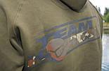 Толстовка с капюшоном KORDA TEAM HOODIE DARK OLIVE, фото 6