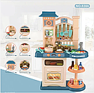 Детская большая детская с холодильником Звуковые и световые эффекты (39 предметов) Вода,холодный пар (2 цвета), фото 8