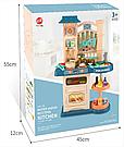 Детская большая детская с холодильником Звуковые и световые эффекты (39 предметов) Вода,холодный пар (2 цвета), фото 9