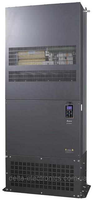 Преобразователь частоты Delta Electronics, 355 кВт, 400В,3ф.,векторный, c ПЛК, VFD3550CP43C-21