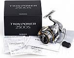 Катушка спиннинговая Shimano Twin Power, фото 2