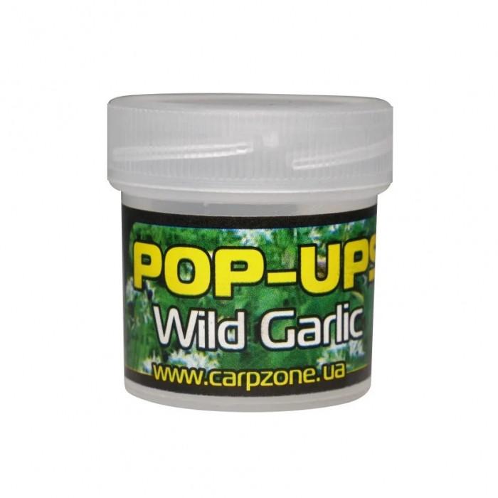 Поп-ап пробник Дикий Чеснок CarpZone Wild Garlic Pop-Ups Fluro, банка 15 шт