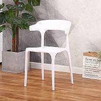 Штабелируемый стул Пауль РAUL белый монопластик для кафе