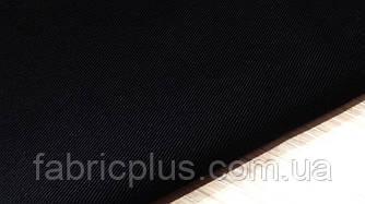 Саржа черная 100 % х/б плотность 203