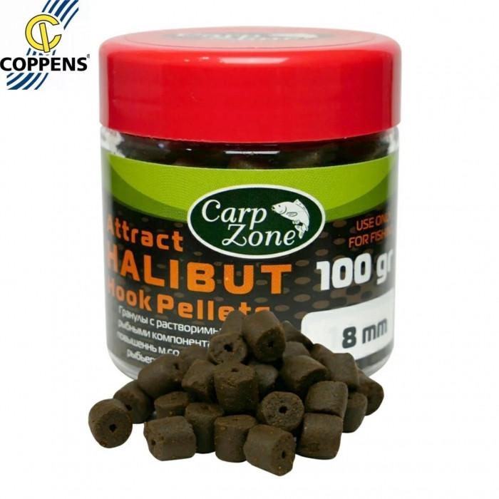 Пеллетс насадочный Палтус CarpZone Halibut Attract Hook Pellets 100g, 100g