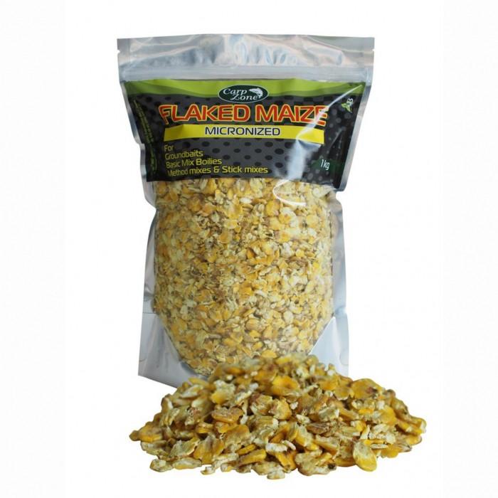 Измельченные кукурузные хлопья CarpZone Flaked Maize Micronized, 1kg