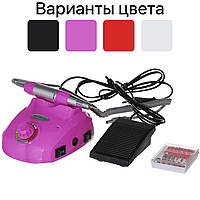 Фрезер для маникюра, ногтей GLAZING 30000 об/мин (фрезер ручка для манікюру, нігтів) Розовый, фото 1