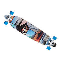 Скейт лонгборд 4109B, наждак, колеса PU (канадський клен) Пейзаж
