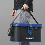 Сумка для снастей лодочная Shimano Hard Tackle Boat Bag 32л, фото 4